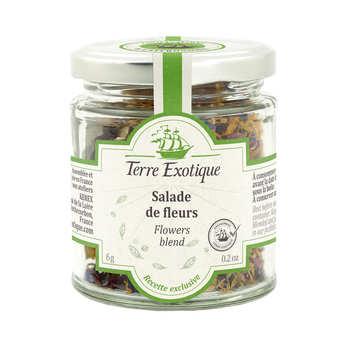 Terre Exotique - Salade de fleurs