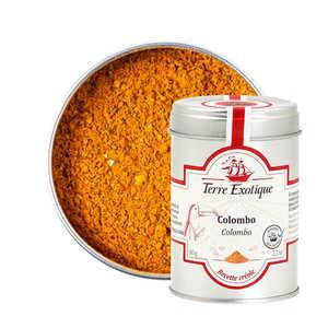 Terre Exotique - Spices mixed - Colombo - Terre de Haut - Les Saintes - Guadeloupe