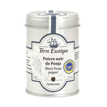 Black pepper from Penja - Cameroon