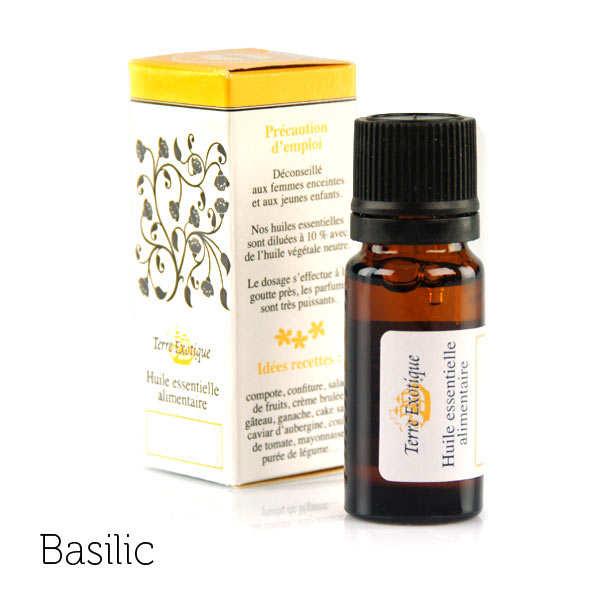 Organic Basil Essential Oil - 10ml