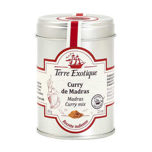 Terre Exotique - Curry de Madras d'Inde