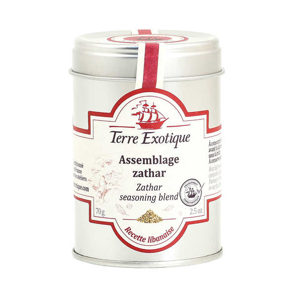Zathar Spice Mix from Byblos, Liban