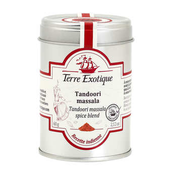 Terre Exotique - Tandoori Massala Blend - Madras - India