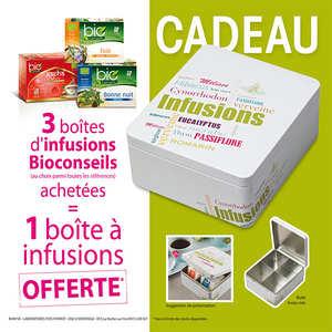 Bio Conseils - 3 Organic Tea Infusions + 1 free box
