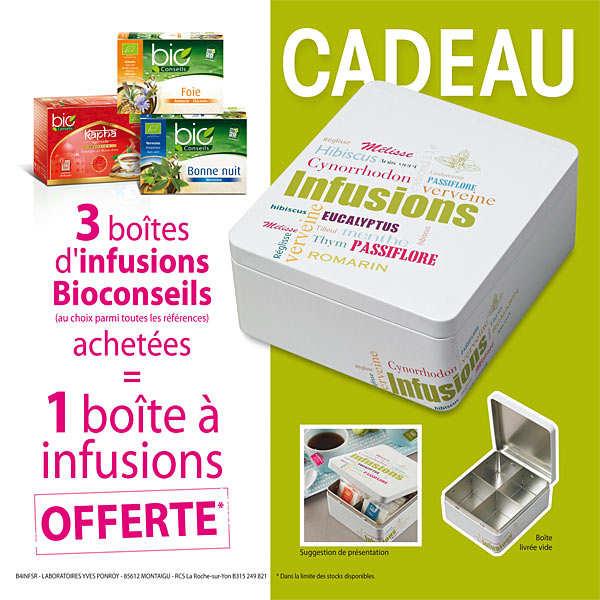 3 Organic Tea Infusions + 1 free box