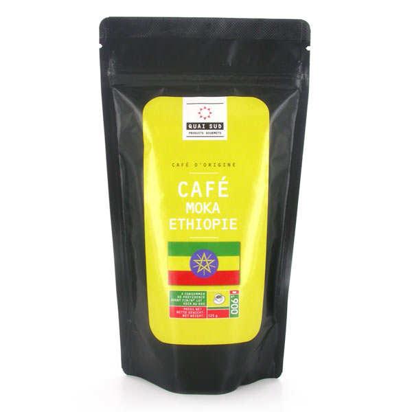 Café Moka Sidamo d'Ethiopie moulu
