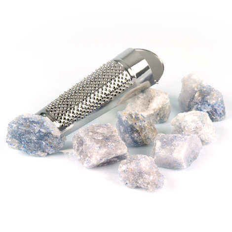 Terre Exotique - Blue Persian Salt with grater