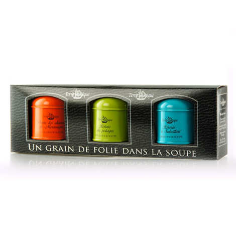 Terre Exotique - Gift Set of Herbs & Spices for Soup