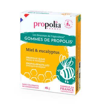Propolia - Gommes de Propolis - Miel, eucalyptus