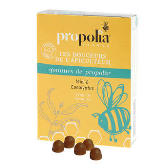 Propolia - Propolis Lozenges Honey and Eucalyptus - Food supplement