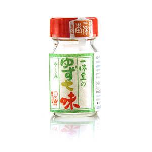 Kyoto Ikkyudô - Yuzu-Shichimi - Blend of 7 Japanese spices with Yuzu