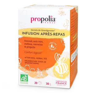 Propolia - Infusion Bio - Plantes et Propolis - Digestion