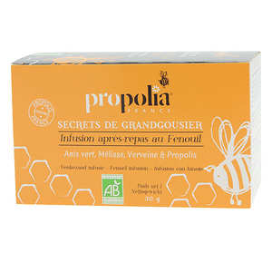 Propolia - Organic Infusions - Plants and Propolis - Digestion