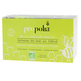 Propolia - Organic Infusions - Plants and Propolis - Relaxation and night