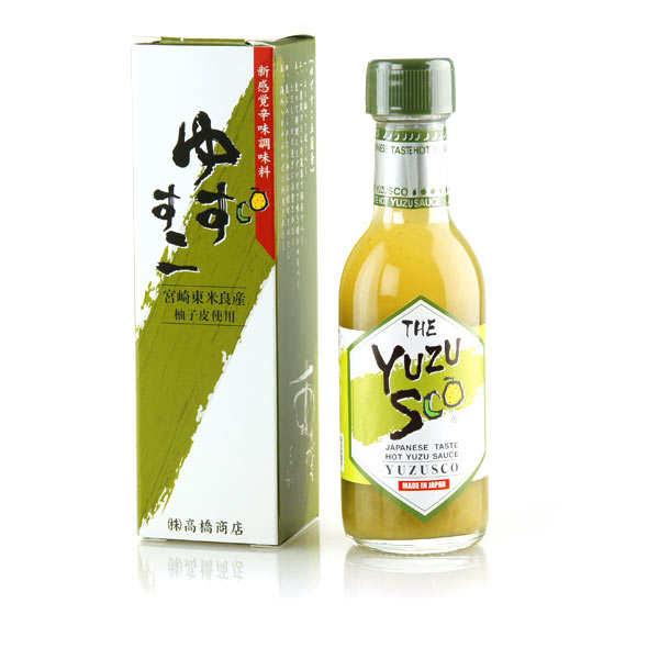 yuzusco sauce piment e au yuzu takahashi shoten