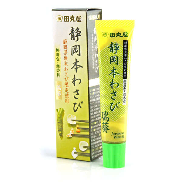 Véritable wasabi en tube du Japon