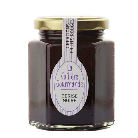 La Cuillère Gourmande - Black cherry jam from Provence
