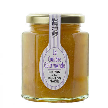 La Cuillère Gourmande - Confiture à l'ancienne de citron à la Mentonnaise