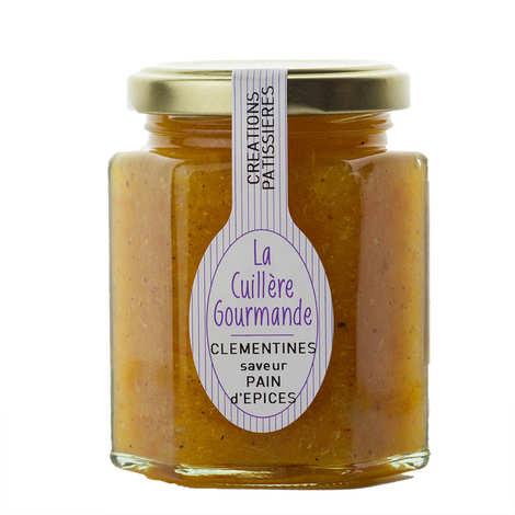 La Cuillère Gourmande - Confiture à l'ancienne de clémentines aux épices