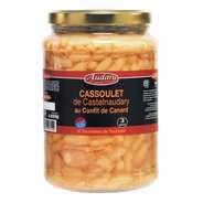 Audary Castelnaudary - Cassoulet de Castelnaudary au confit de canard - 3/4 parts