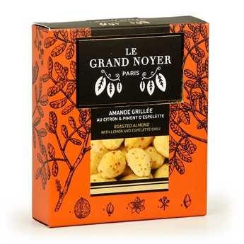 Le Grand Noyer - Amande grillée au citron et piment d'espelette