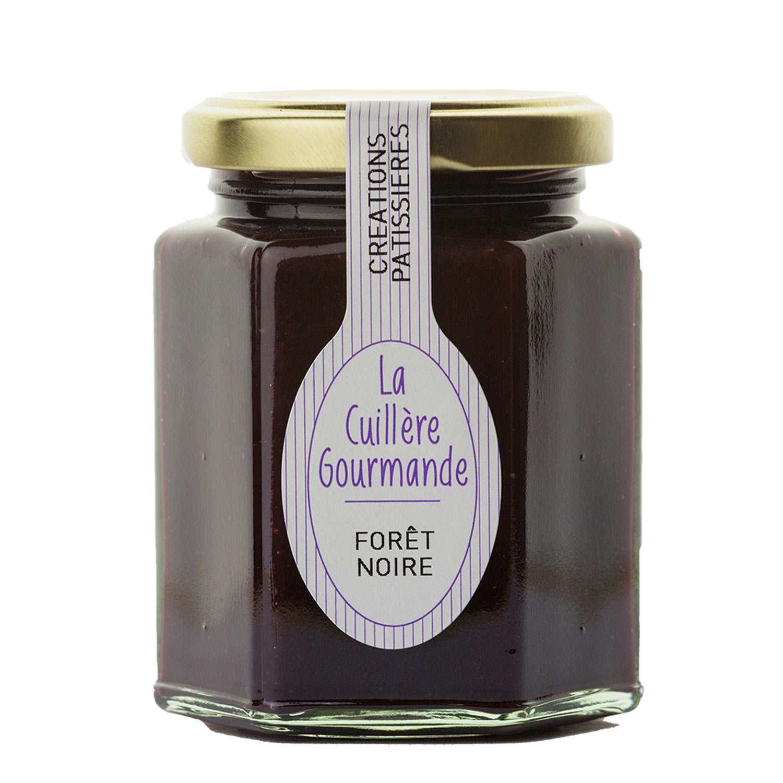 Gourmandise Forêt Noire (cerise noire chocolat)