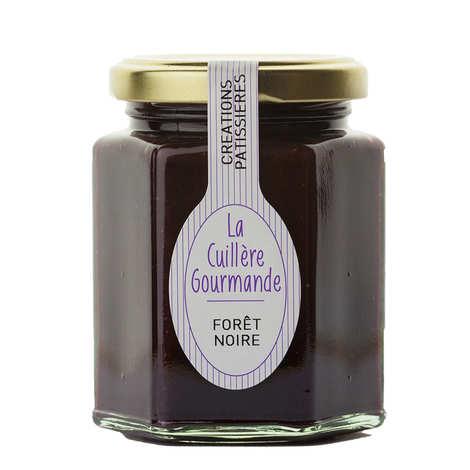 La Cuillère Gourmande - Gourmandise Forêt Noire (cerise noire chocolat)
