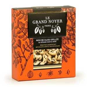 Le Grand Noyer - Noix de cajou grillée au sésame noir et doré