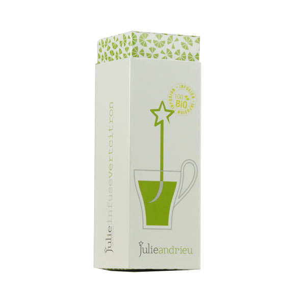 Infusion vert citron - Julie Infuse