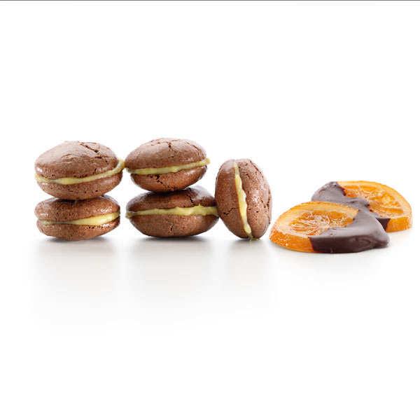 Plaque pour macarons en silicone Lékué