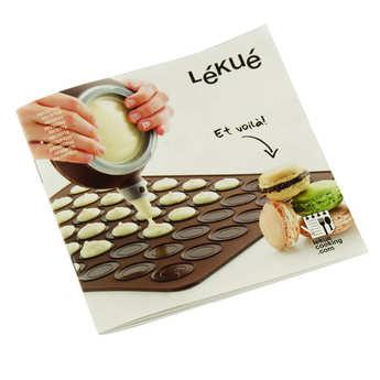 Lékué - Kit macarons silicone Lékué (plaque + Decomax)