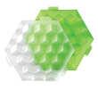 Lékué - Ice cube - Bac à glaçons parfaitement cubiques
