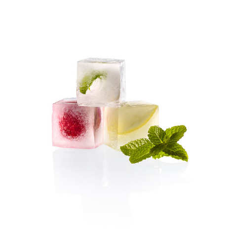 Lékué - Perfect Cubes ice cube tray