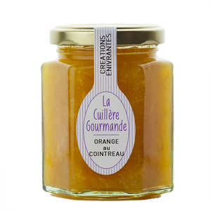 La Cuillère Gourmande - Marmelade flavoured with Cointreau