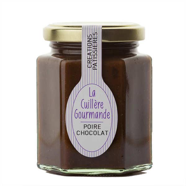 Gourmandise poire au chocolat