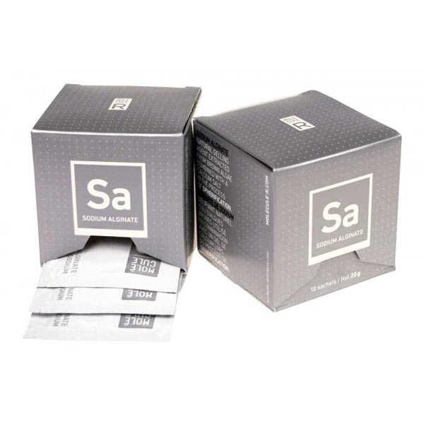Alginate de sodium en sachets