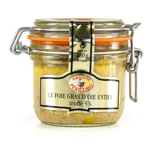 Whole Goose Foie Gras with Truffles