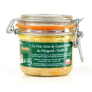 Valette - Foie gras de canard entier truffé 5% IGP Périgord