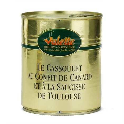 Valette - Le Cassoulet au Confit de Canard et à la Saucisse de Toulouse