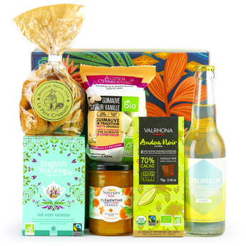BienManger paniers garnis - Organic Sweet Delights Gift Box