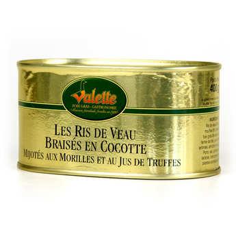 Valette - Ris de Veau Braisés en Cocotte Mijotés aux Morilles et Jus de Truffes