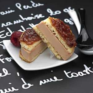 Valette - Pain Perdu with Duck Foie Gras & Raspberry Compote