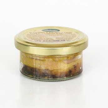Valette - Pains perdus - foie gras de canard entier et compotée de framboises