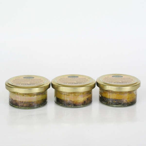 Pains perdus - foie gras de canard entier et compotée de framboises