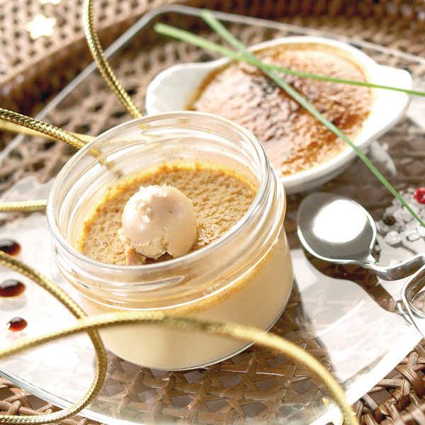 Crèmes Brûlées with Foie Gras