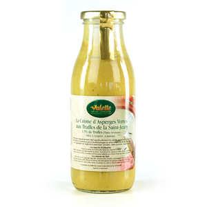Valette - Crème d'Asperges Vertes aux Truffes de la Saint-Jean
