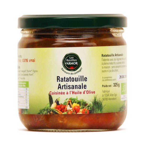 Ratatouille artisanale cuisinée à l'huile d'olive - Bio