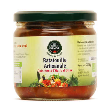 Organic Ratatouille from Brittany