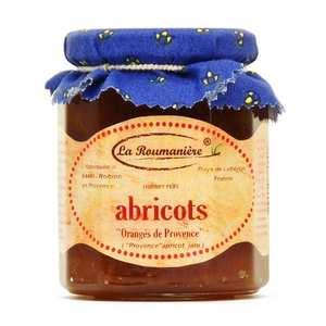La Roumanière - Confiture d'abricots orangés de Provence