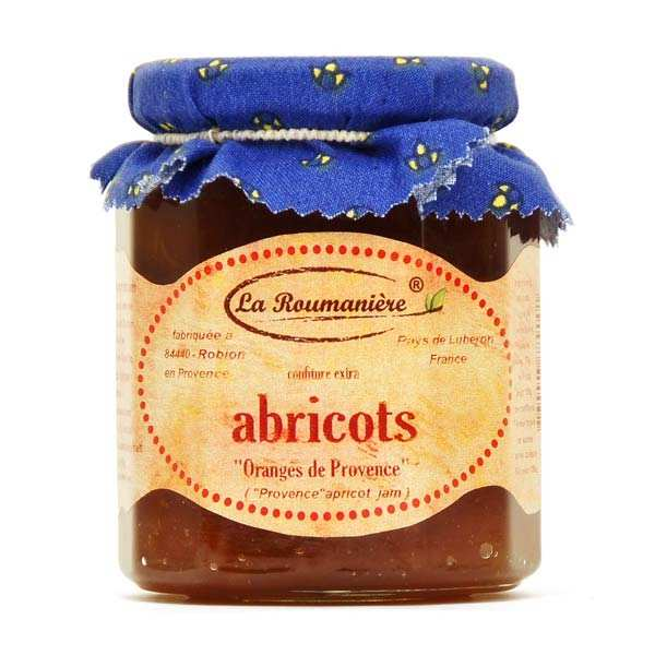 Confiture d'abricots orangés de Provence